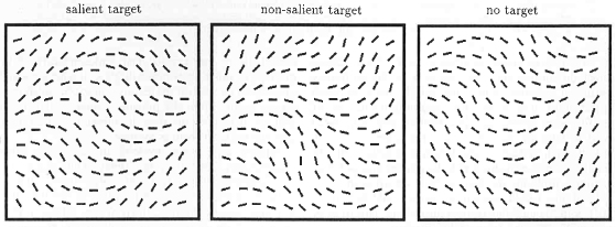 search for salient targets